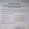 1st Year FA/FSc Admissions for O Level Students
