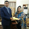 Mrs Mahpara Jabeen promoted to the rank of Assistant Professor of Urdu in BPS 18